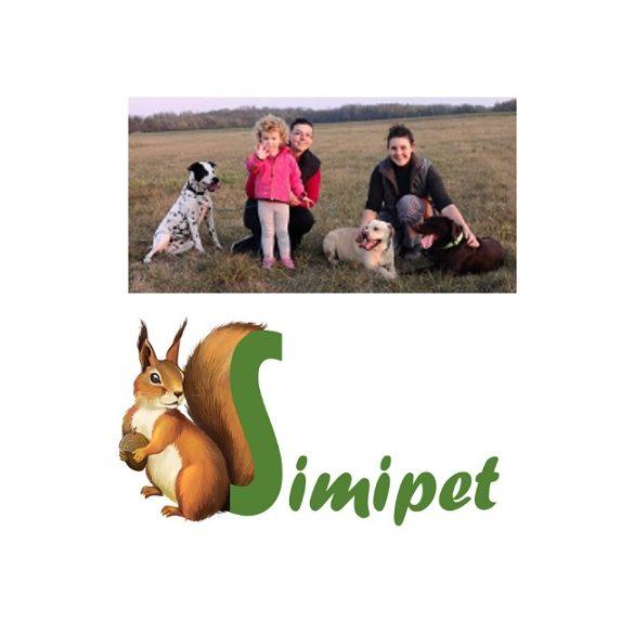 Trixie Ceramic Double Bowl - kerámia dupla tál (fehér,mintás) rövid orrú macskák részére (2x0,15l /Ø11cm)