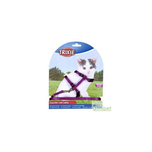 trixie 4182 póráz+hám kitten, 19–31 cm/8 mm, 1.20 m