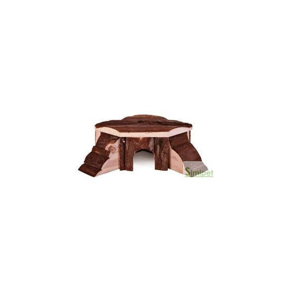 Trixie Thordis Corner House - Fából készült sarok odú csincsillák és tengerimalacok részére (35x15x37cm)