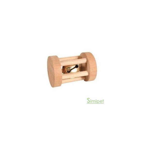 trixie 6183 rágcsálójáték henger csörgővel 3,5x5cm