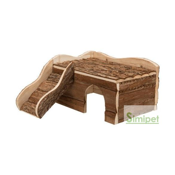 Trixie Ineke Ház - Fából készült odú nyulak és tengerimalacok részére (38x25x50cm)