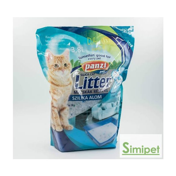 Panzi Silica Cat macskaalom (3,8 literes)
