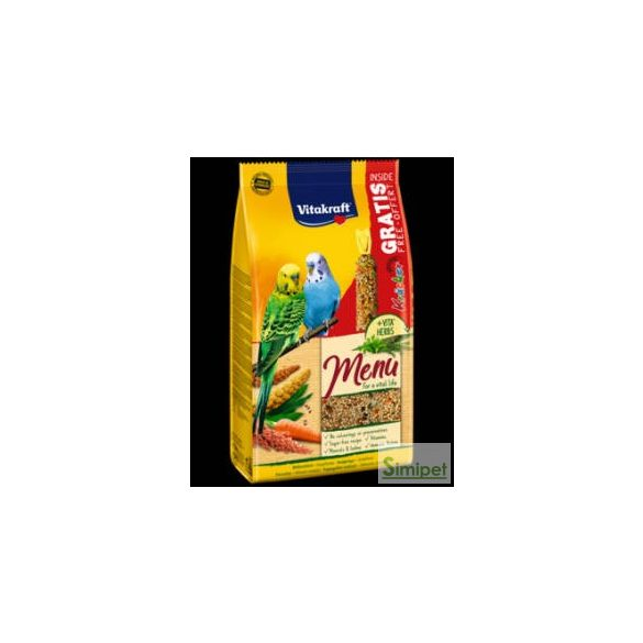 Vitakraft Menu (Hullámos papagáj) - teljes értékű eledel (1kg)