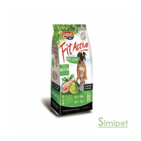 Panzi FitActive Puppy 15 kg Chicken&Pears