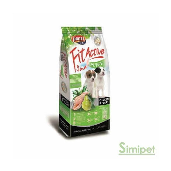 Panzi FitActive Puppy Small 15 kg Chicken&Pears