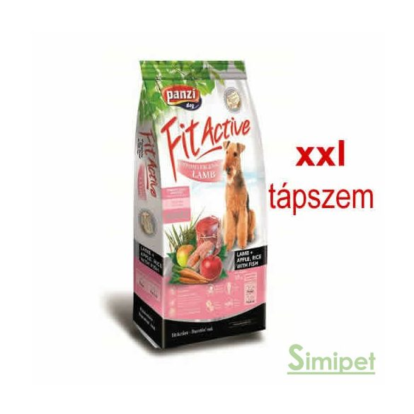 Panzi FitActive Hypoallergenic XXL 15 kg Adult Lamb&Apple&Rice
