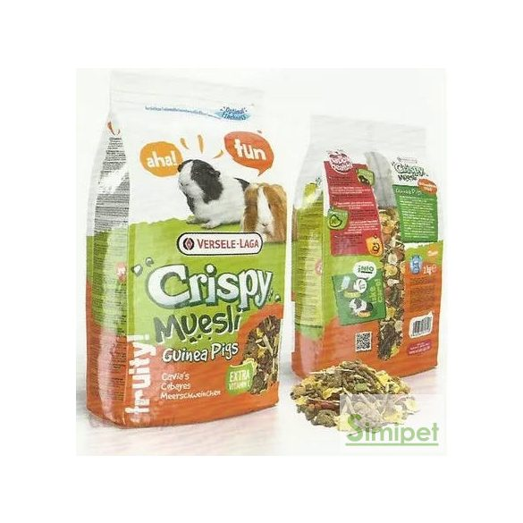 Versele-Laga Cryspy Muesli Guinea Pigs - eleség tengerimalacoknak (1kg)