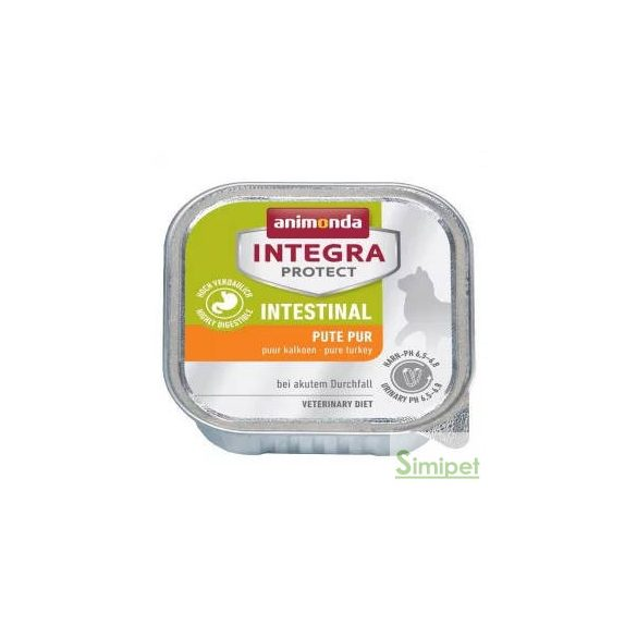 Animonda Integra Intestinal (pulyka) alutálkás - Akut hasmenéses macskák részére (100g)