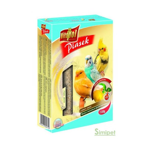 Vitapol madárhomok - citrom aromával (1,5kg)